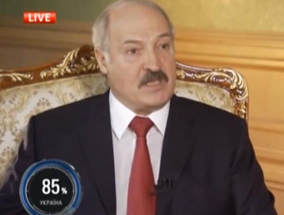 Александр Лукашенко. Интервью Савику Шустеру. Шустер LIVE, 28.03.2014.