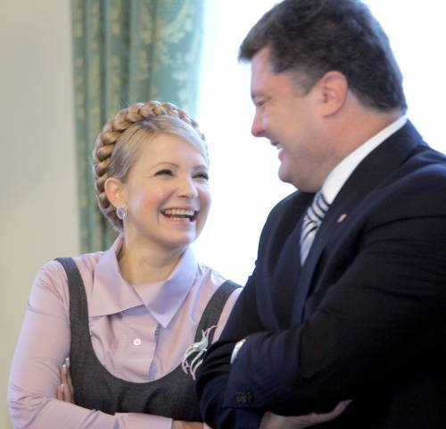 Новые анекдоты про Крым, Путина, Украину и Россию. Юлия Тимошенко и Пётр Порошенко ржут и немогут!