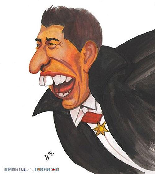 Ржачные и смешные картинки. Луис Альберто Суарес. Автор шаржа Владимир Унжаков.