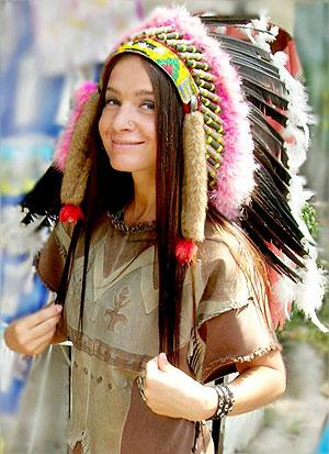 Смешные истории, анекдоты про индейцев.