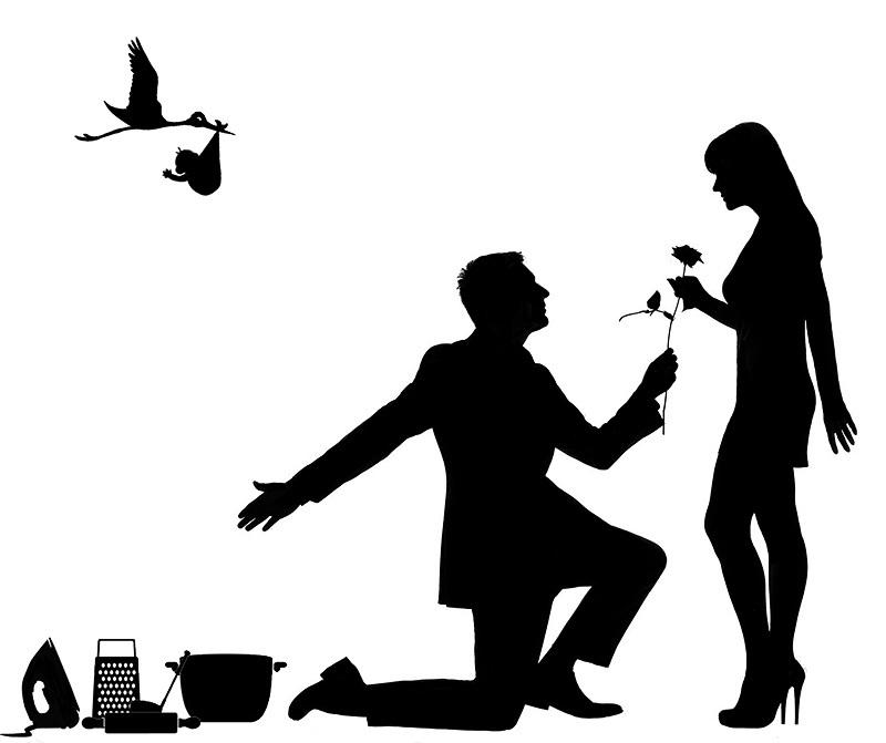 Взаимная любовь мужчины и женщины... Что движет этими разнополыми субъектами? Прикольный социологический опрос!