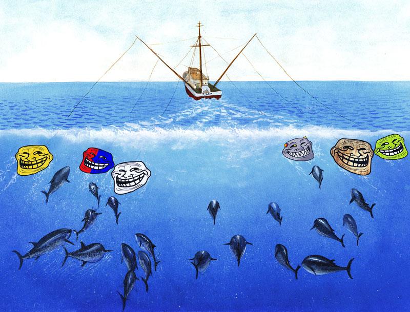 Влияние на людей и троллинг. Как не допустить, чтобы вами манипулировали? Да это обыкновенная рыбалка!