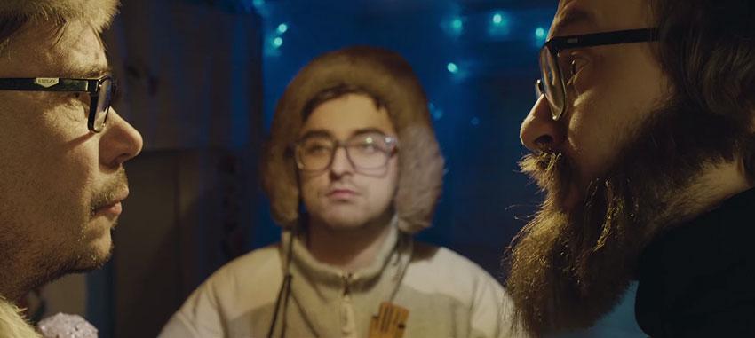 DZIDZIO - Ангели чудяться. Різдвяна історія та привітання з Різдвом та Новим роком від Дзідзя. Відео фільм.