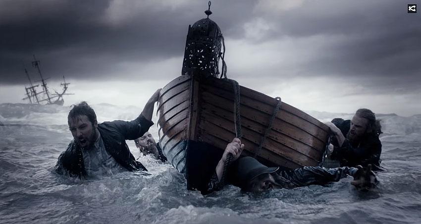 Каста - Корабельная песня. Видео клип. Текст песни.