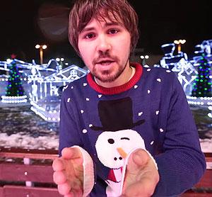 Вася Обломов - Письмо Санта Клаусу. Видео клип. Текст песни.