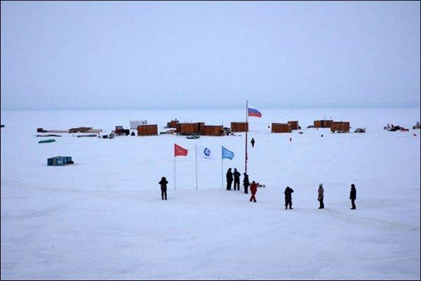Дрейфующая станция «Северный полюс – 41» в Арктике начала свою работу