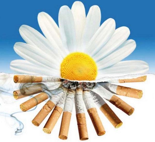 Отучить папу курить