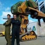 Гигантские 5-тонные роботы Японии и Америки встретятся на дуэли ВИДЕО
