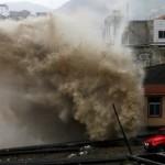 В Китае тайфун «Чан-Хом» уничтожил целую провинцию СМОТРЕТЬ ВИДЕО