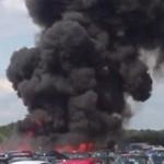 В Англии разбился самолет с семьей Усамы бен Ладана ВИДЕО