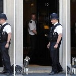 Полицейский пнул кота британского премьера ВИДЕО