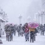 Непогода в Москве закрыла аэропорт ВИДЕО