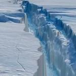 Материк Антарктида раскололся на трещину в 40 км ВИДЕО